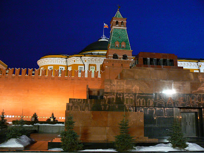 Mausoleul Lenin la Kremlin