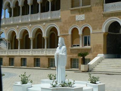 Obiective turistice Nicosia de Sud: palatul arhiepiscopului Ciprului
