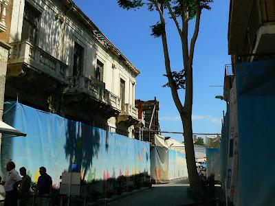 Imagini Nicosia: Linia Verde, trecerea in Cipru turcesc