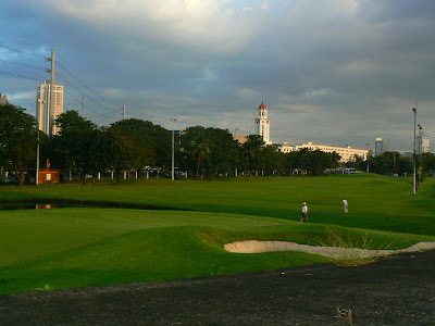 Sport Filipine: teren de golf in Manila