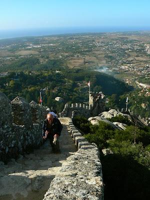 Imagini Portugalia: Castelul Maurilor Sintra