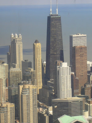 Imagini Chicago: panorama din Sears Tower
