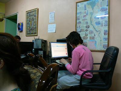 Cazare Egipt: Isis Hotel Cairo Dr. Barbie la computer
