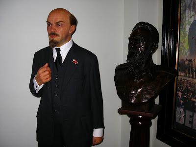 Obiective turistice Amsterdam: Lenin in Madame Tussaud