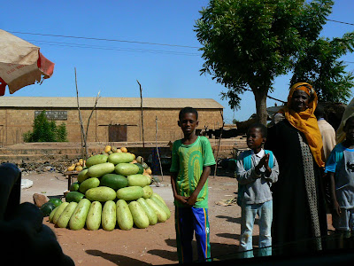 Imagini Mali: expozitie de pepeni