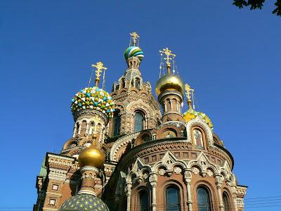 Obiective turistice Sankt Petersburg: catedrala ortodoxa rusa