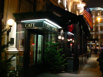Imagini Austria: Sacher Cafe Viena