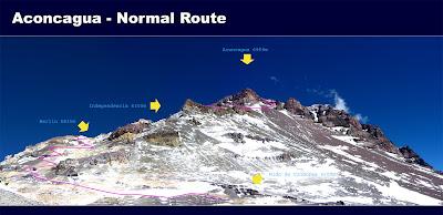 Harta Aconcagua