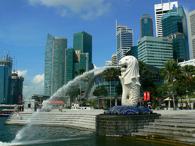 Obiective turistice Singapore: Merlion