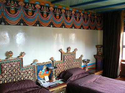 Imagini Tibet: hotel Dhod-Gu Lhasa camera