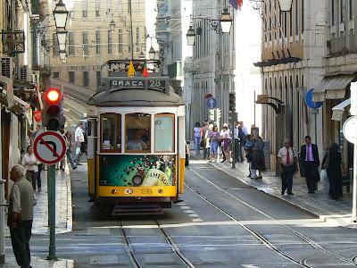 Imagini Portugalia: tramvaie in Lisabona