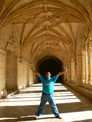 Imagini Portugalia: manastirea Jeronimos Lisabona