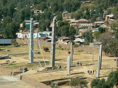 Obiective turistice: stelae din Aksum