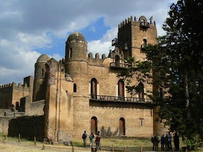 Obiective turistice Etiopia: palatul in stil portughez din Gonder