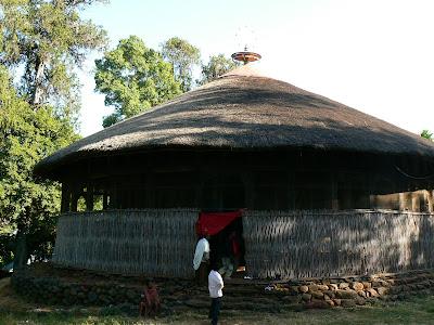 Imagini Etiopia: Azuwa Maryam, lacul Tana