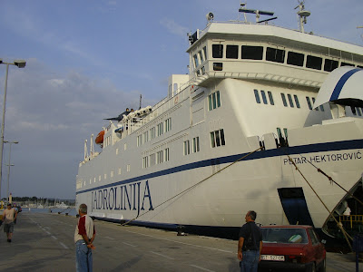 Transport Croatia: ferry Split - Hvar, Jadrolinija
