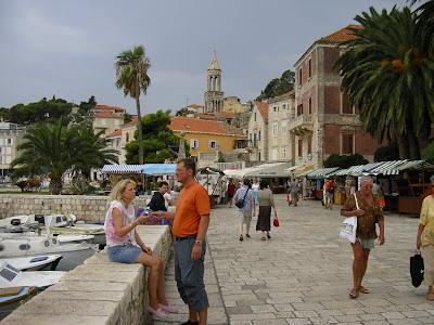 Imagini Croatia: faleza din Hvar