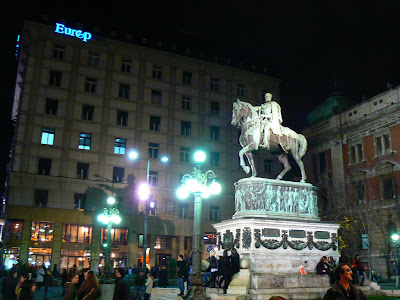 Obiective turistice Serbia: Trg Republike Belgrad