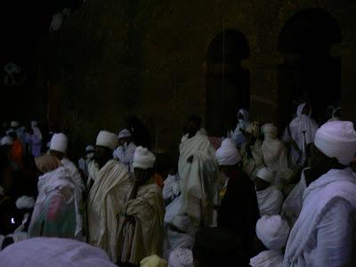 Imagini Etiopia: Craciun la Beta Maryam