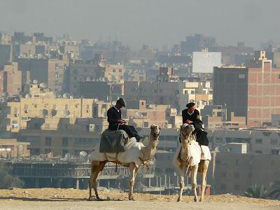 Imagini Egipt: politia turistica Cairo