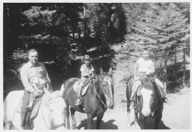 September 1955.  Wallowa Lake.