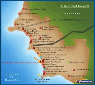 Pantai Purnama, Cocobay Apartment; Port Dickson; Pantai Telok Kemang;
