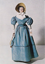 English doll with composition head and kid body (ca. 1830)