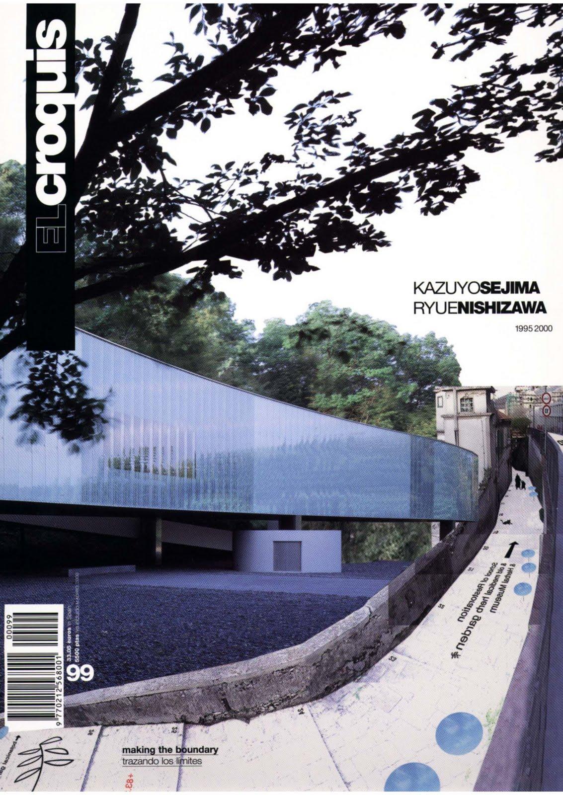 Architecture landscape el croquis 99 kazuyo sejima for El croquis pdf