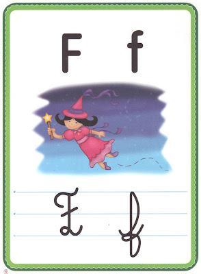 ALFABETO+LETRA+F A PEDIDOS: + UM ALFABETO ILUSTRADO! para crianças