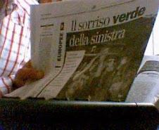 Anche a Veroli il sorriso verde della sinistra con Domenico La Posta