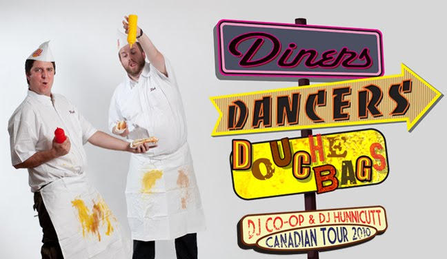 DJ Co-op and DJ Hunnicutt present: Diners, Dancers and Douchebags