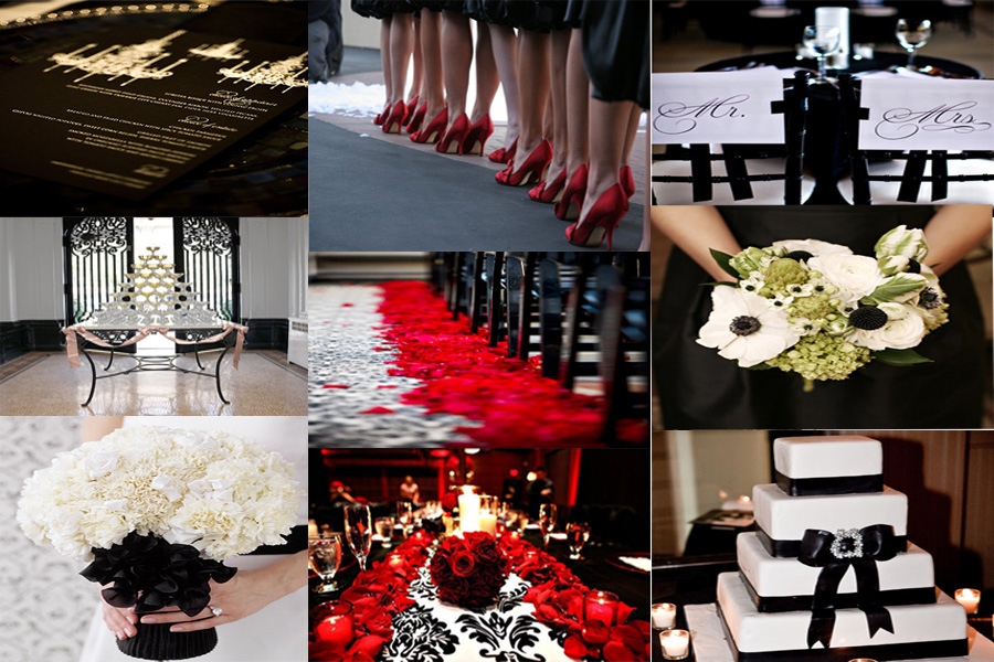 Best Red Black Silver Wedding Images - Styles & Ideas 2018 - sperr.us
