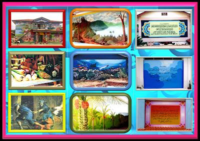 Mural painting mural brochures for Mural hidupan laut