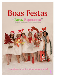 Rosa Esperança em tons natalinos!!