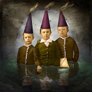Boys With Thinking Caps