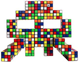 Space Invader: The World Shall Be My Mosaic Tile