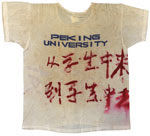 T-shirt worn by one of the students