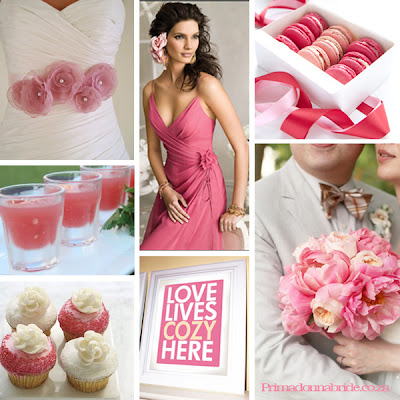 Semplicemente Perfetto Wedding Planner Inspiration Board Rosa