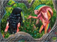 Eve in the garden