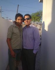 Cristian Hoyos y Jose Banegas
