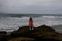 In Sept. I was on the other side of this ocean with Isaac in San Diego