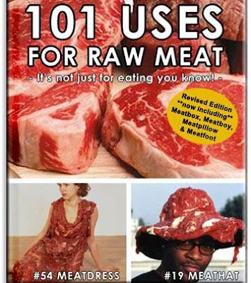 101 usage of raw meat amazing photos. 惊异图片:生肉的101种功能。