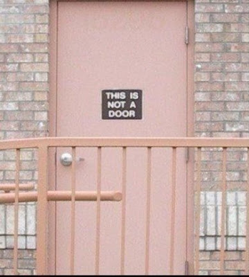 Funny Pictures: Door? Or not?