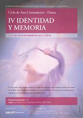 IV IDENTIDAD Y MEMORIA 2010