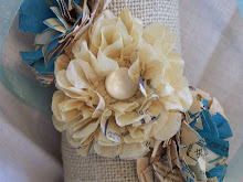 Paper Flower Tutorial using Vintage Sewing Patterns