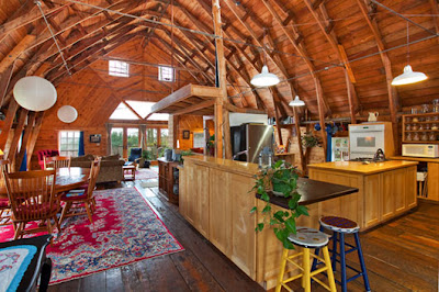 Interior barn home design