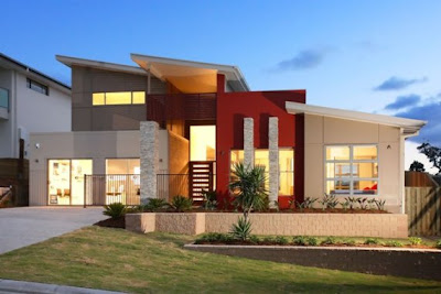 Home design decorating ideas contemporary home design starts with modern architectural lines for Modern home design ideas photos