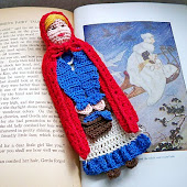 Little Red Riding Hood Reading Character Bookmark PDF Pattern