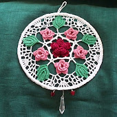Ring of Roses Sun Catcher