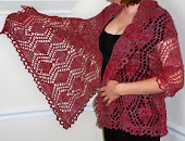 Hearts and Diamonds Wrap Pattern